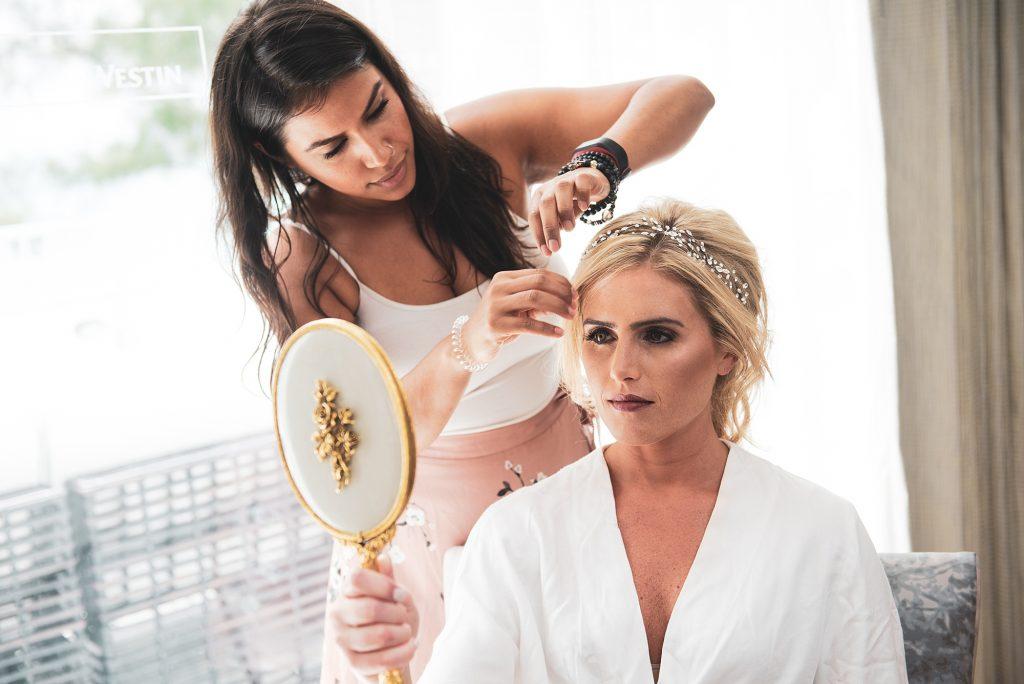 cayman wedding getting ready