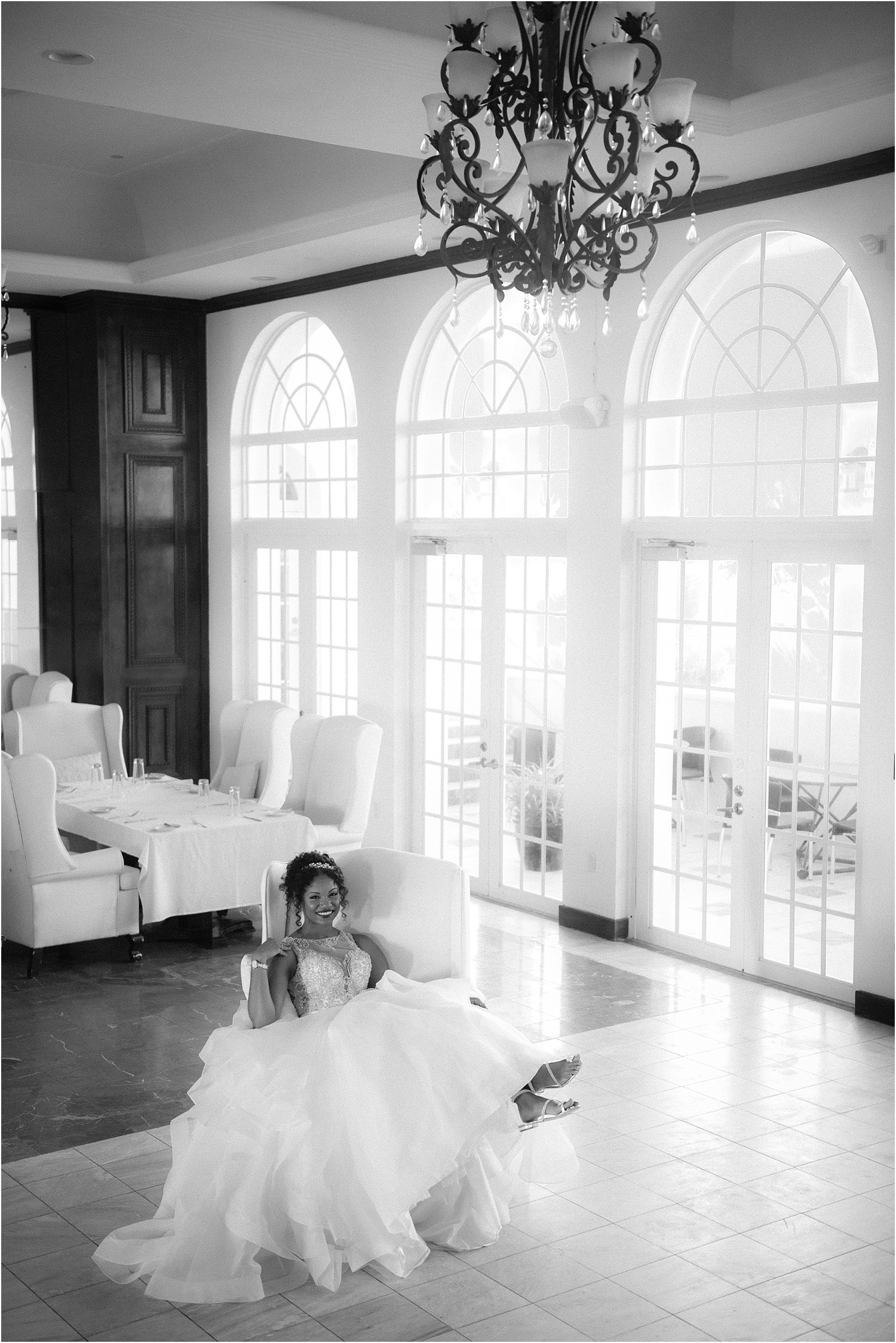 cayman bride portrait