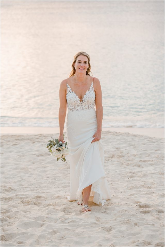 cayman bridal portrait