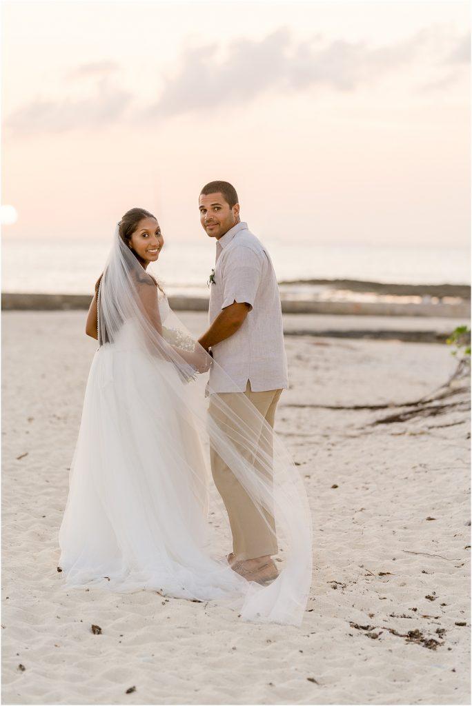 stunning Caribbean wedding