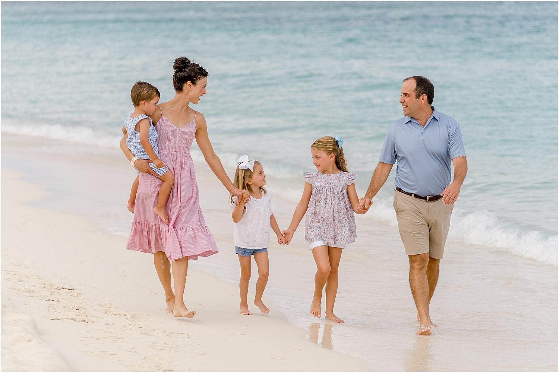 grand cayman family portrait
