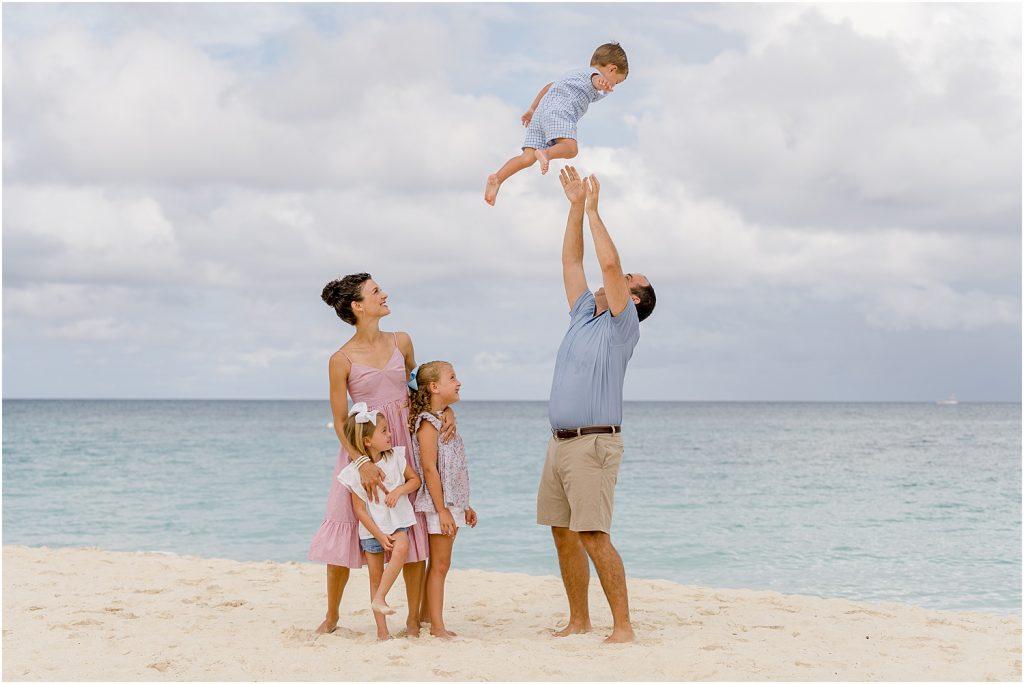 family portraits seven mile beach