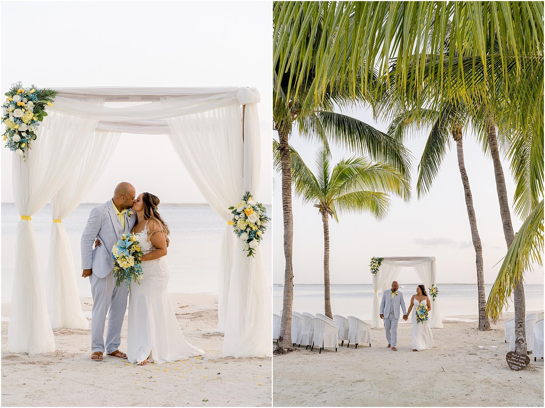 beautiful beach wedding cayman islands