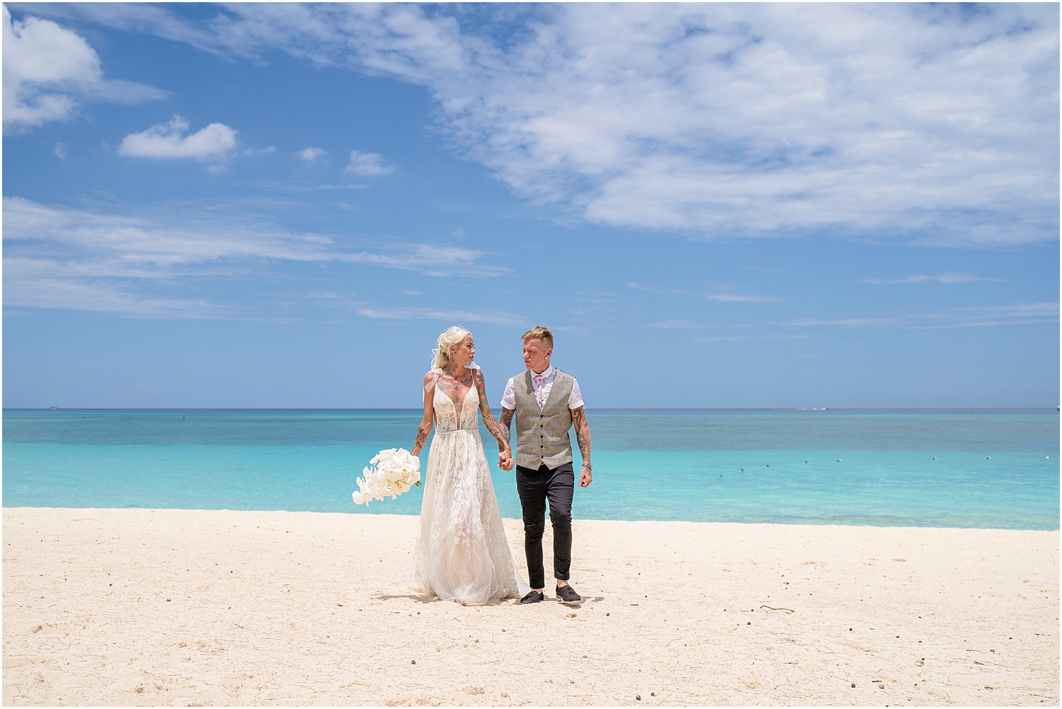 cayman daytime wedding